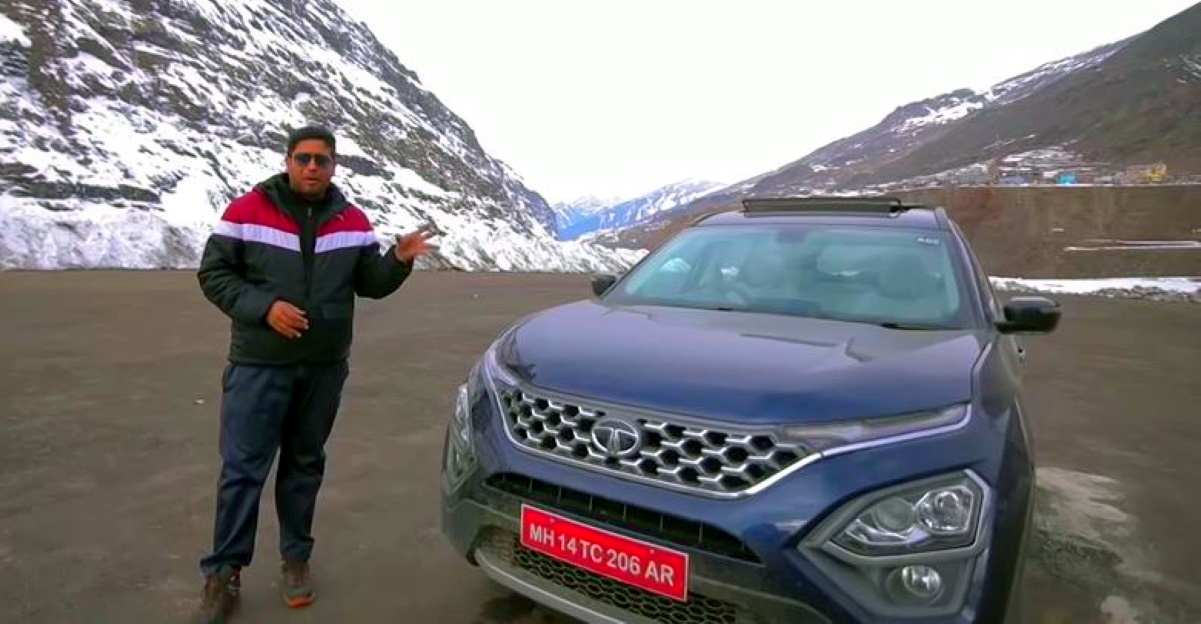 First all-new Tata Safari to reach the Atal Tunnel: This is it