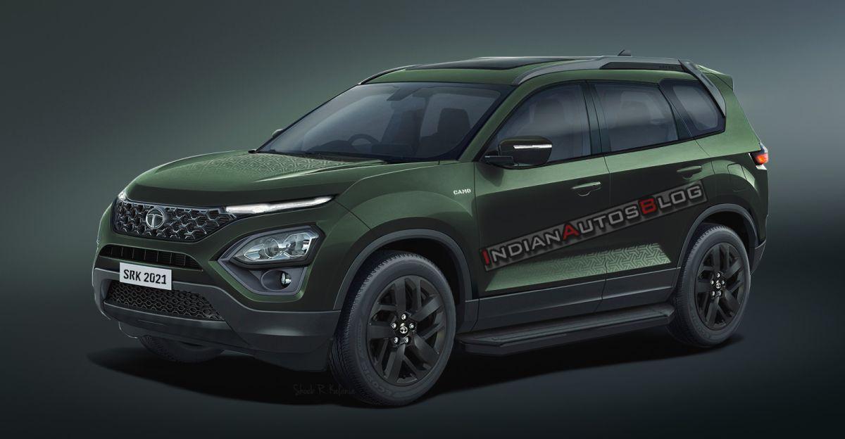 2021 Tata Safari Camo Edition: What it'll look like