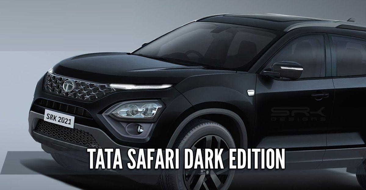 Tata Safari Dark Edition: What the SUV will look like