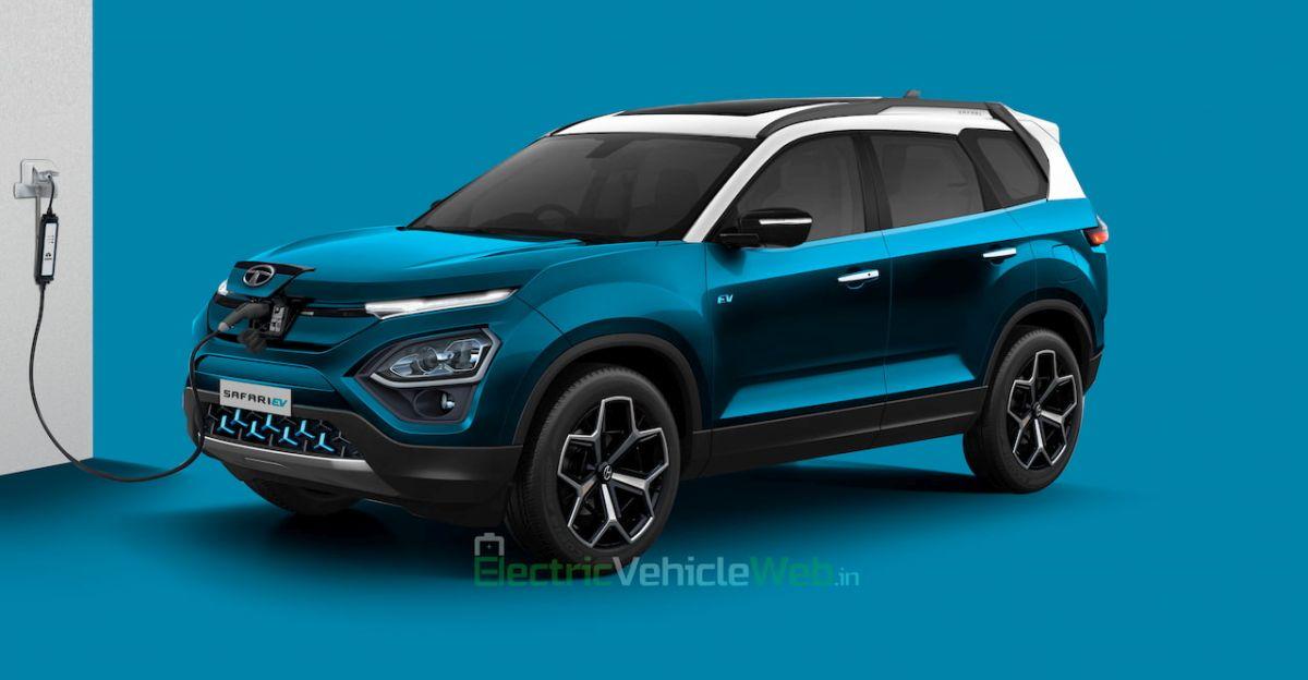 All-new 2021 Tata Safari imagined as an electric SUV