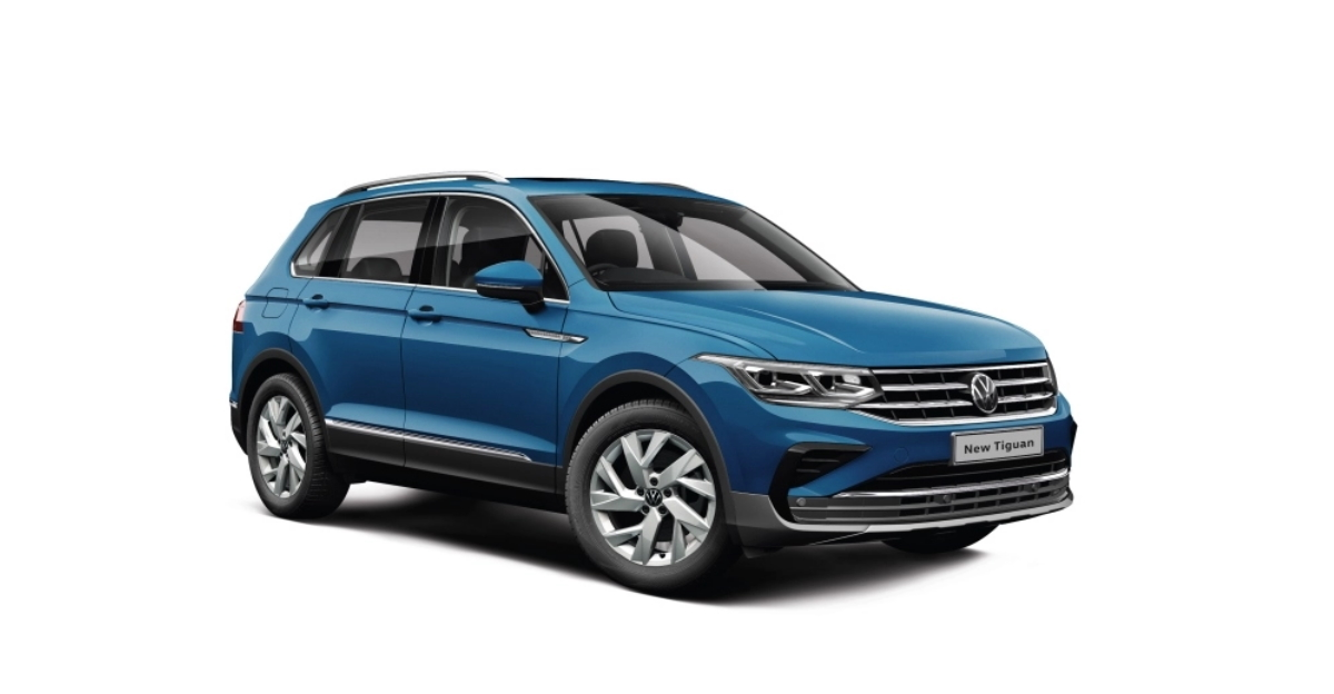 New Volkswagen Tiguan SUV for India revealed