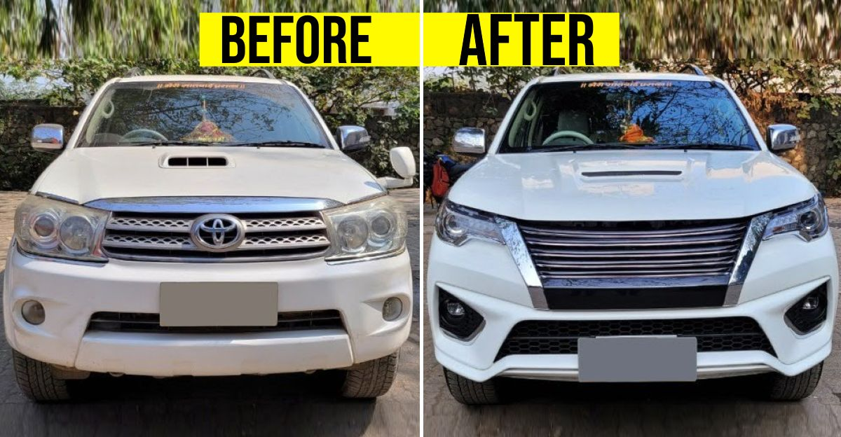 Toyota Fortuner Type 1 beautifully converted to Type 3 for the first time in India