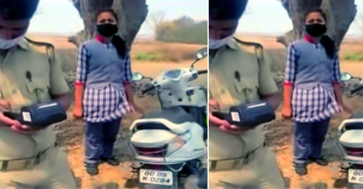 Parents of four minors fined Rs. 1 lakh for allowing them to ride scooters to school