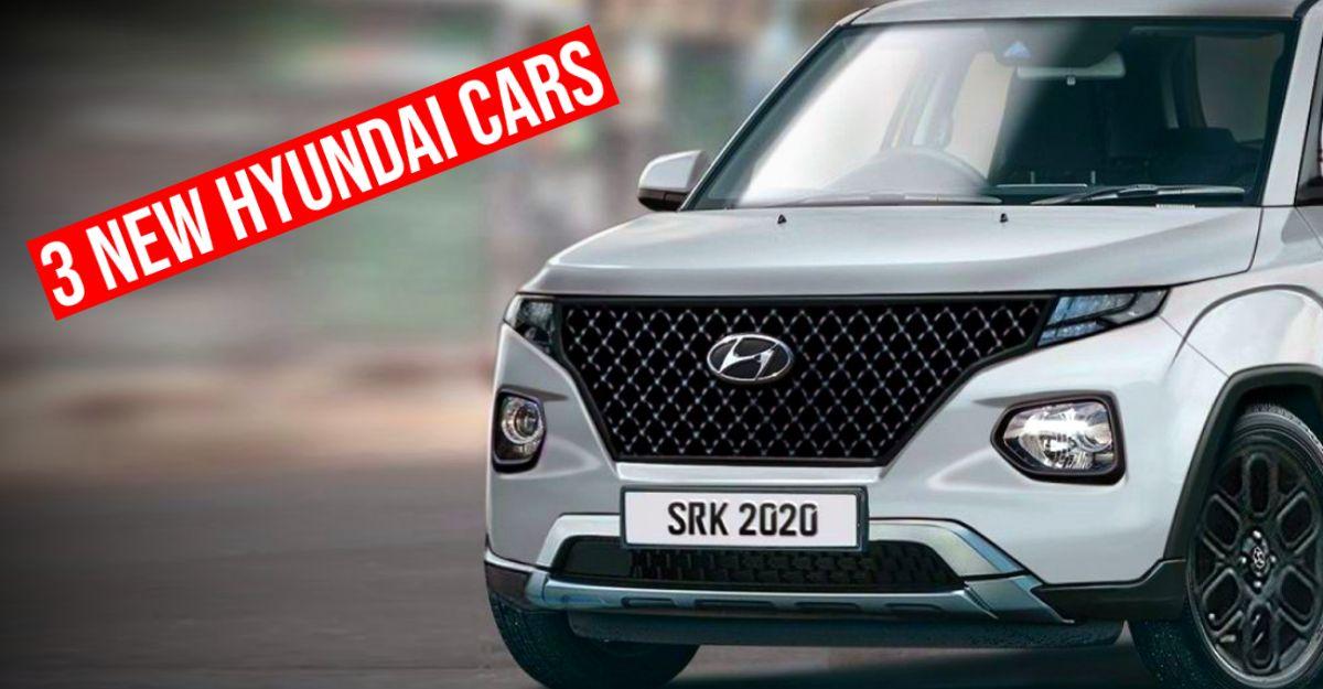 Upcoming Hyundai cars launching in 2021: Alcazar to AX1
