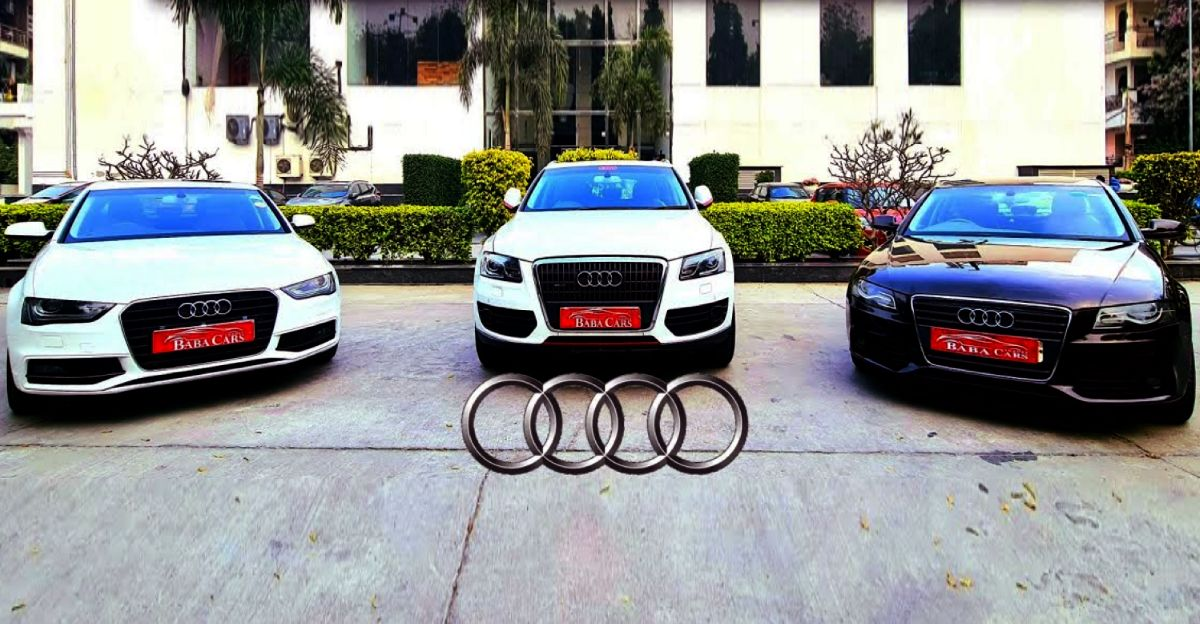 Pre-owned, well-maintained Audi cars selling at the price of a Maruti Swift