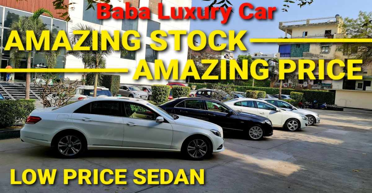 Well-maintained Mercedes Benz & Volvo luxury sedans selling for compact-sedan prices