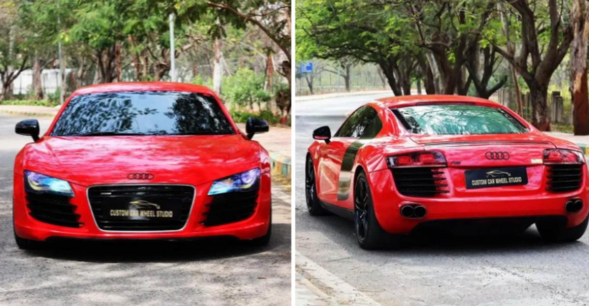 Audi R8 supercar selling at Fortuner price!