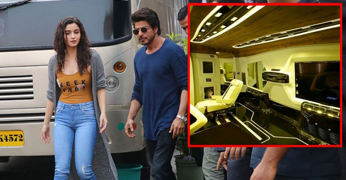 Bollywood stars & their vanity vans: Shahrukh Khan to Alia Bhatt