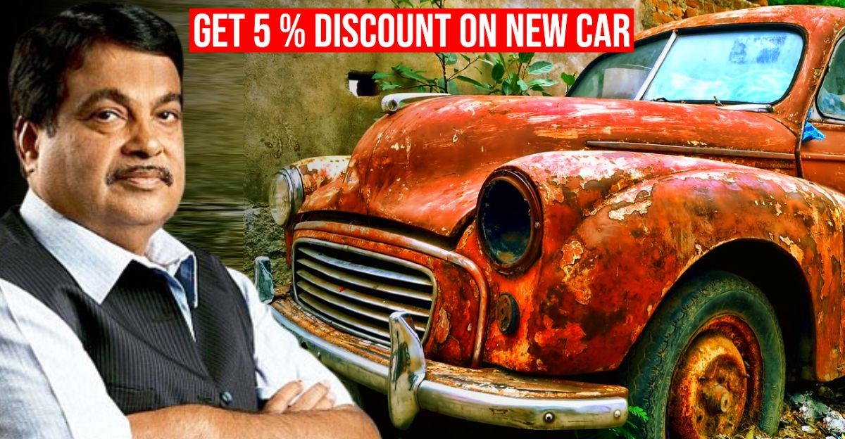 5% off on new vehicle if you scrap your old vehicle: Nitin Gadkari