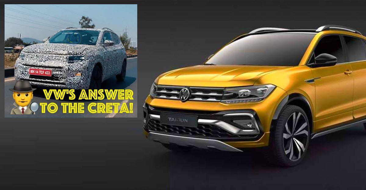 2021 Volkswagen Taigun spied ahead of launch