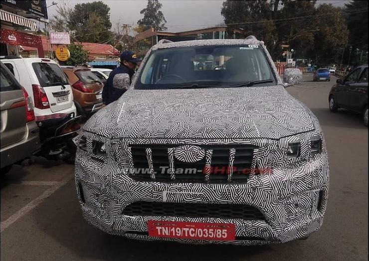 Mahindra is testing upcoming Scorpio in the Sand Dunes of Rajasthan [Video]