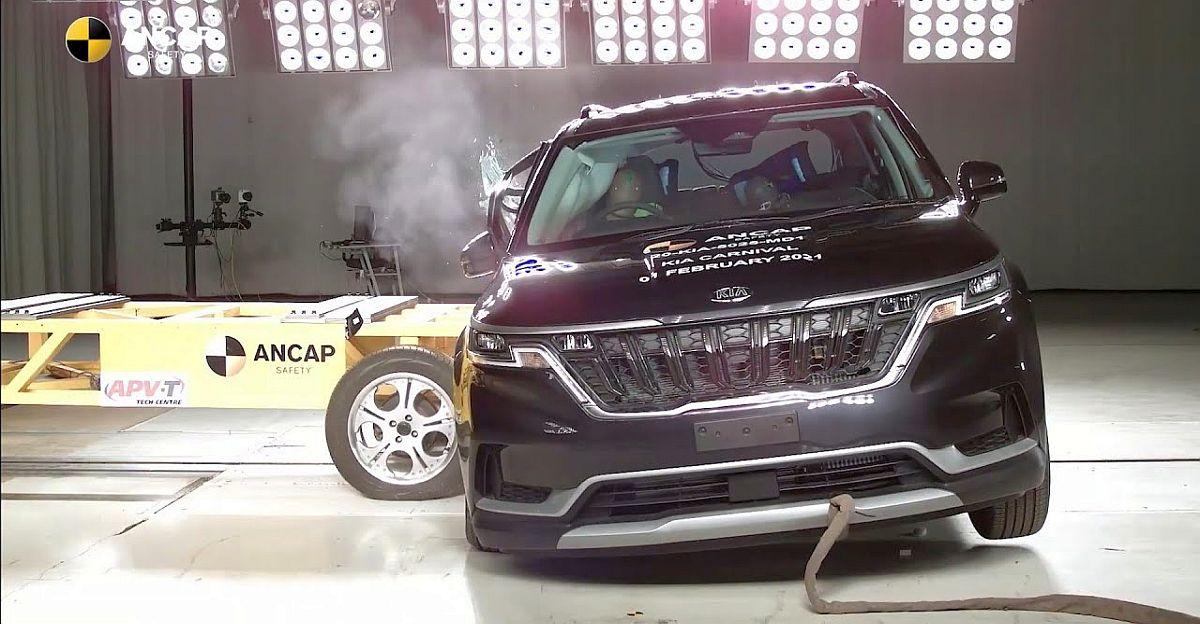 2021 Kia Carnival MPV scores 5 stars in A-NCAP crash test