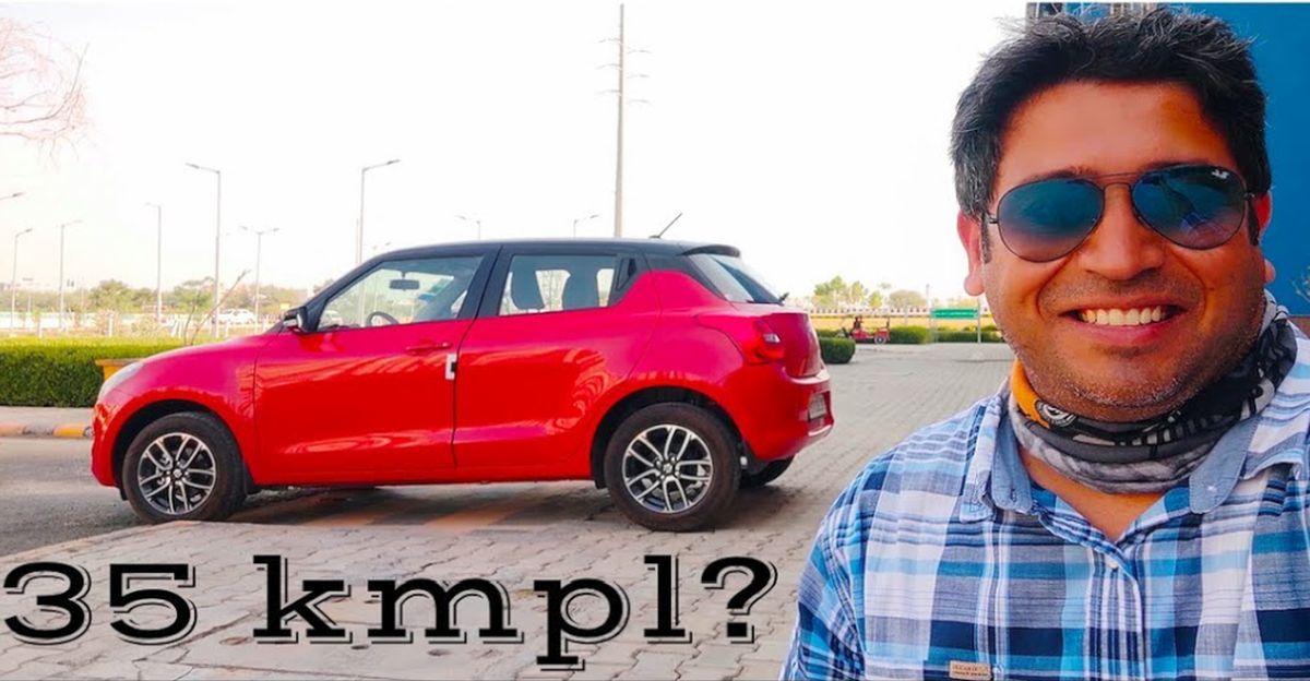 2021 Maruti Suzuki Swift mileage test: Can it beat the fuel price hike?
