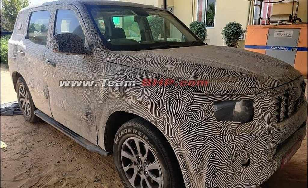 2021 Mahindra Scorpio interiors spied for the first time