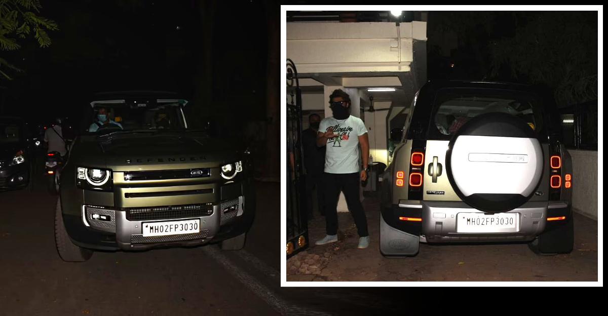 Arjun Kapoor buys a Rs. 1 Crore Land Rover Defender SUV