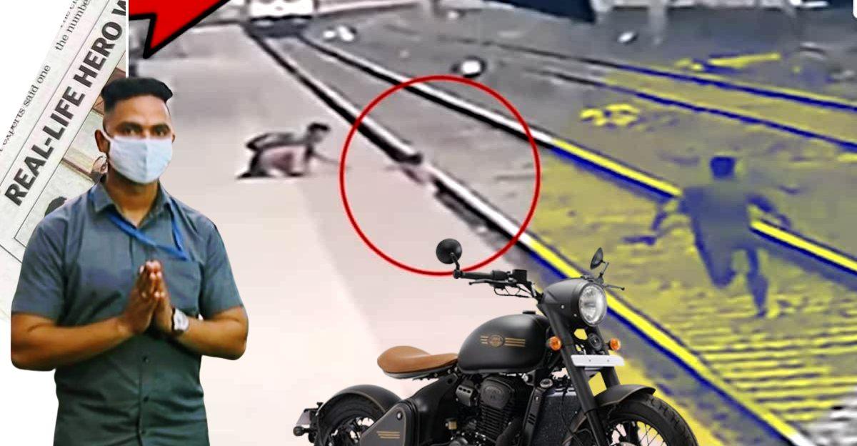 Jawa to award Railway Hero Mayur Shelke a motorcycle for his exemplary bravery