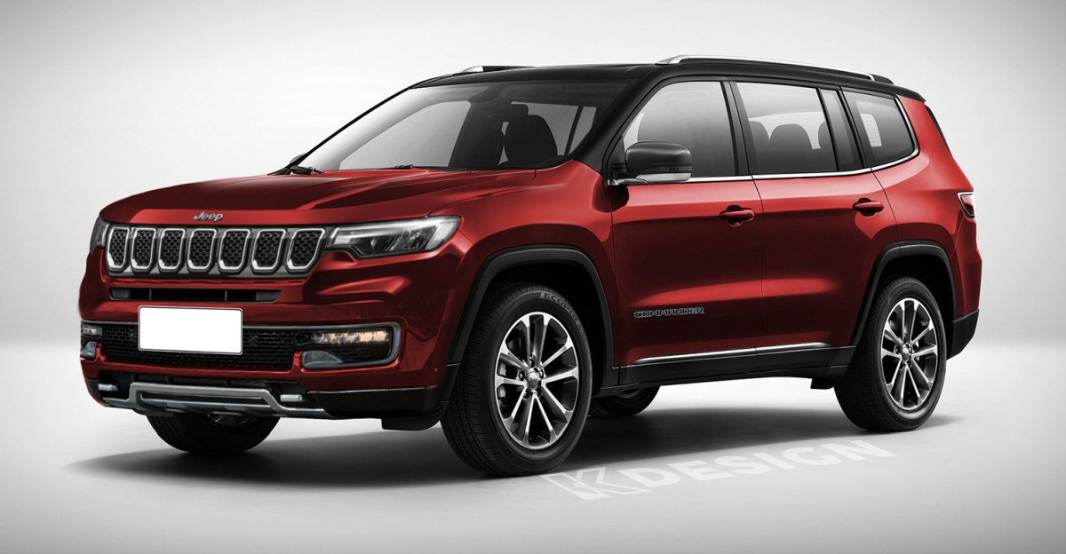 Jeep Commander 7-seater SUV rendered: Will rival Toyota Fortuner