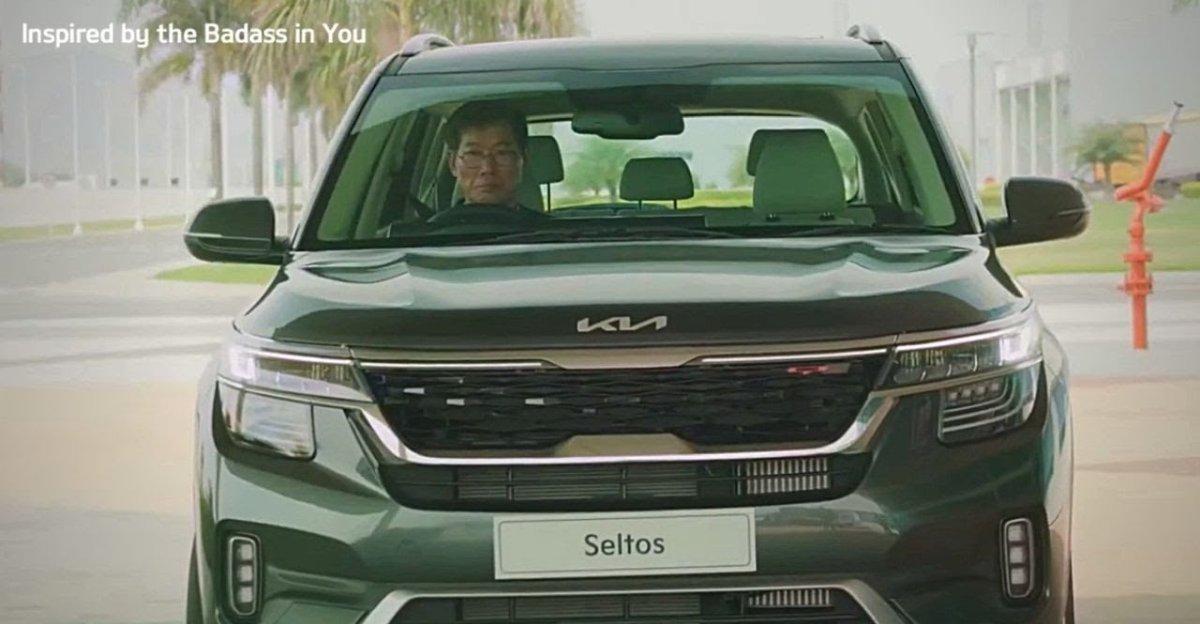 2021 Kia Seltos Facelift: Teaser video out