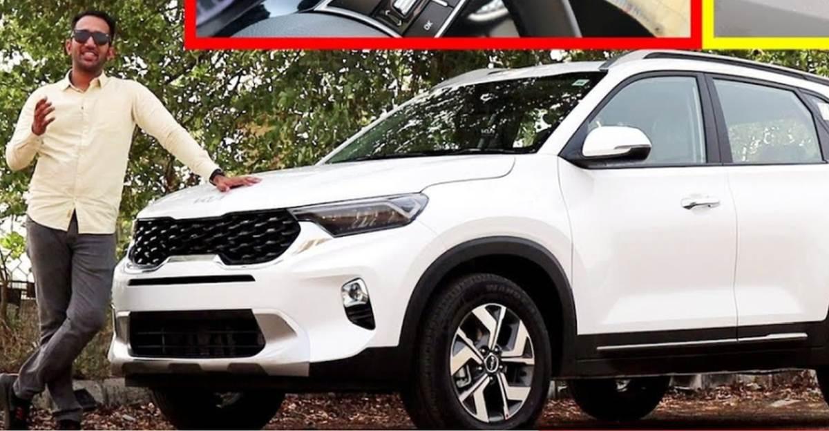 2021 Kia Sonet compact SUV detailed on video