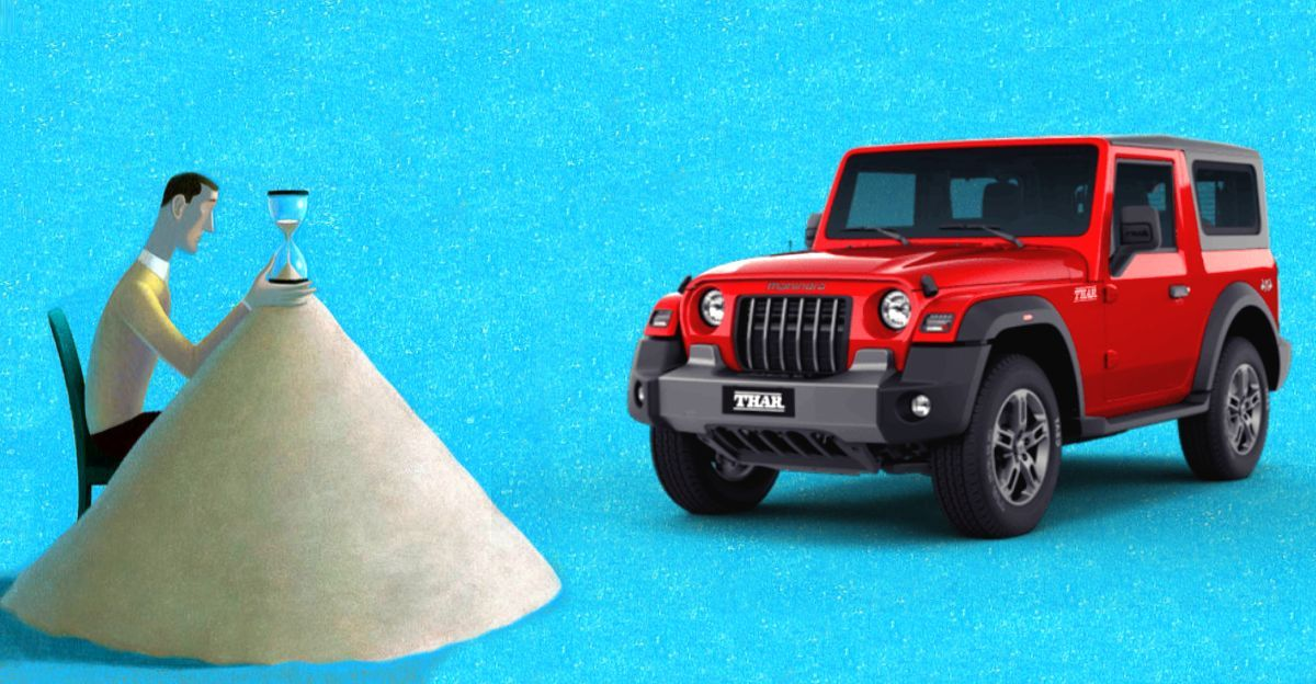 Mahindra Thar waiting period crosses 1 year for some cities
