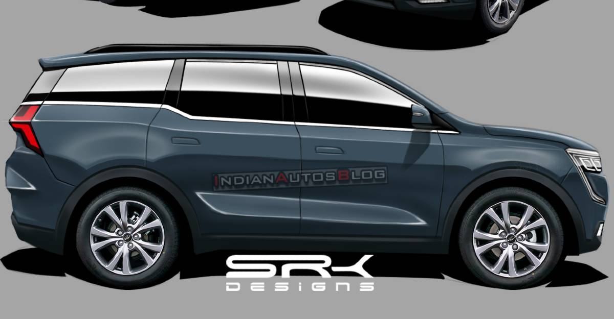 2021 Mahindra XUV700 SUV: What it will look like from the front, rear & side