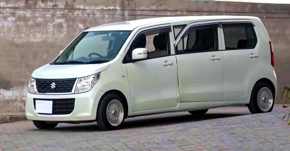 Maruti Suzuki WagonR modified into a limousine for just Rs 2.3 lakh