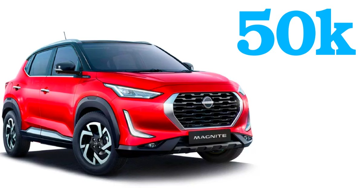 Nissan Magnite compact SUV receives over 50,000 bookings, 10,000 units already delivered