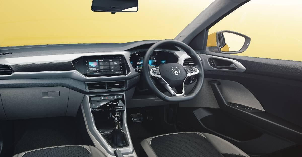 Volkswagen Taigun interior revealed through a digital render