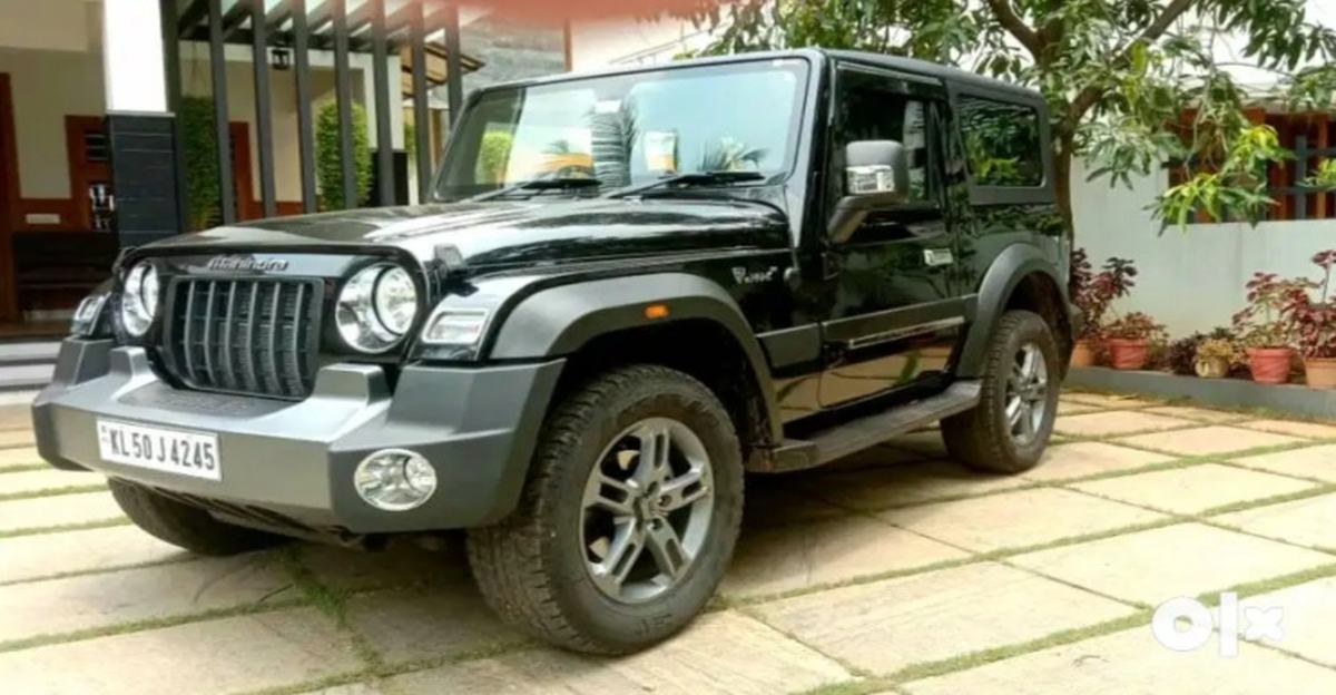 Almost new Mahindra Thar SUVs available for sale with no waiting period