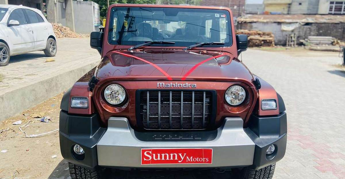 Almost-new Mahindra Thar 4X4s for sale: No waiting period