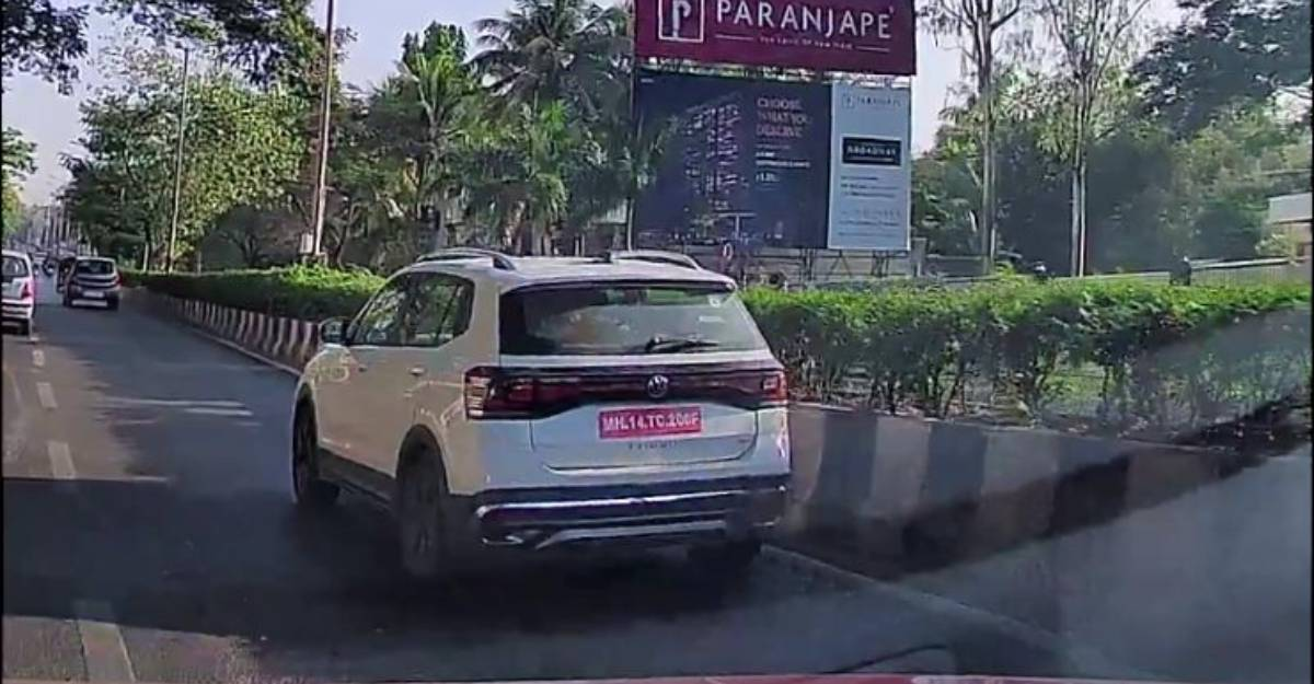 Volkswagen Taigun compact SUV spied testing in India ahead of launch