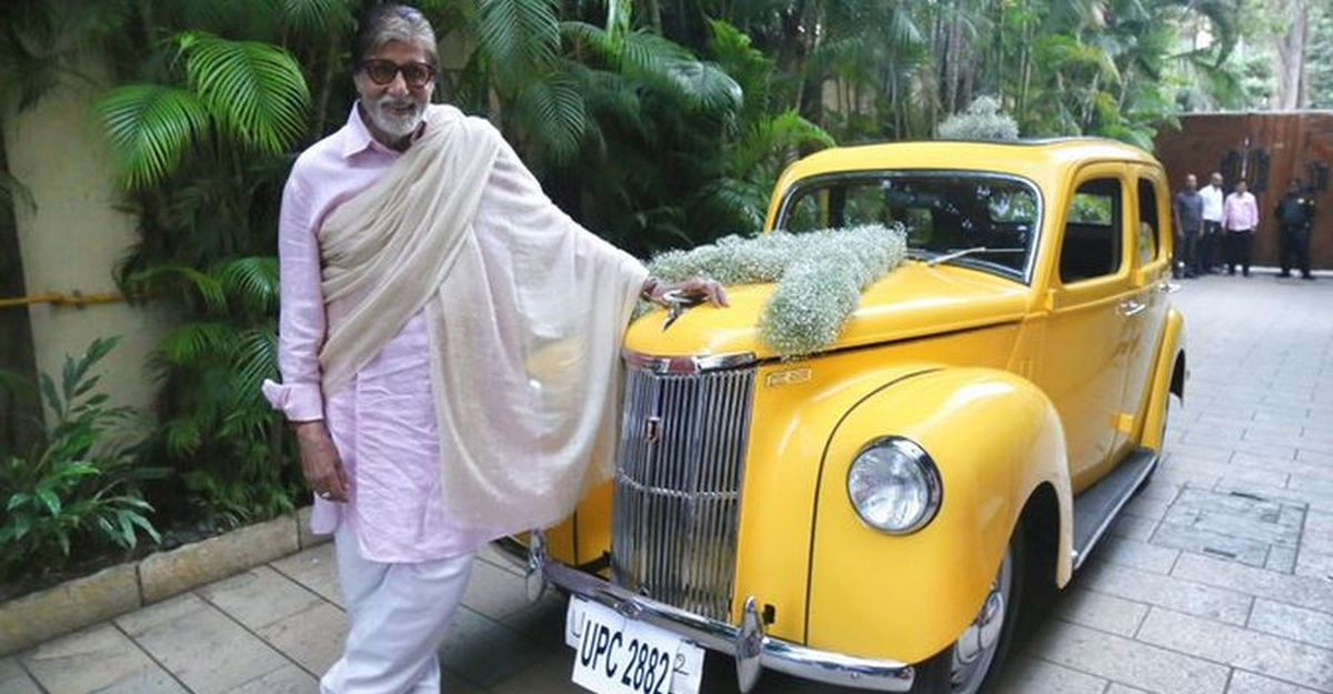 This vintage Ford Prefect left Amitabh Bachchan speechless: Here's why