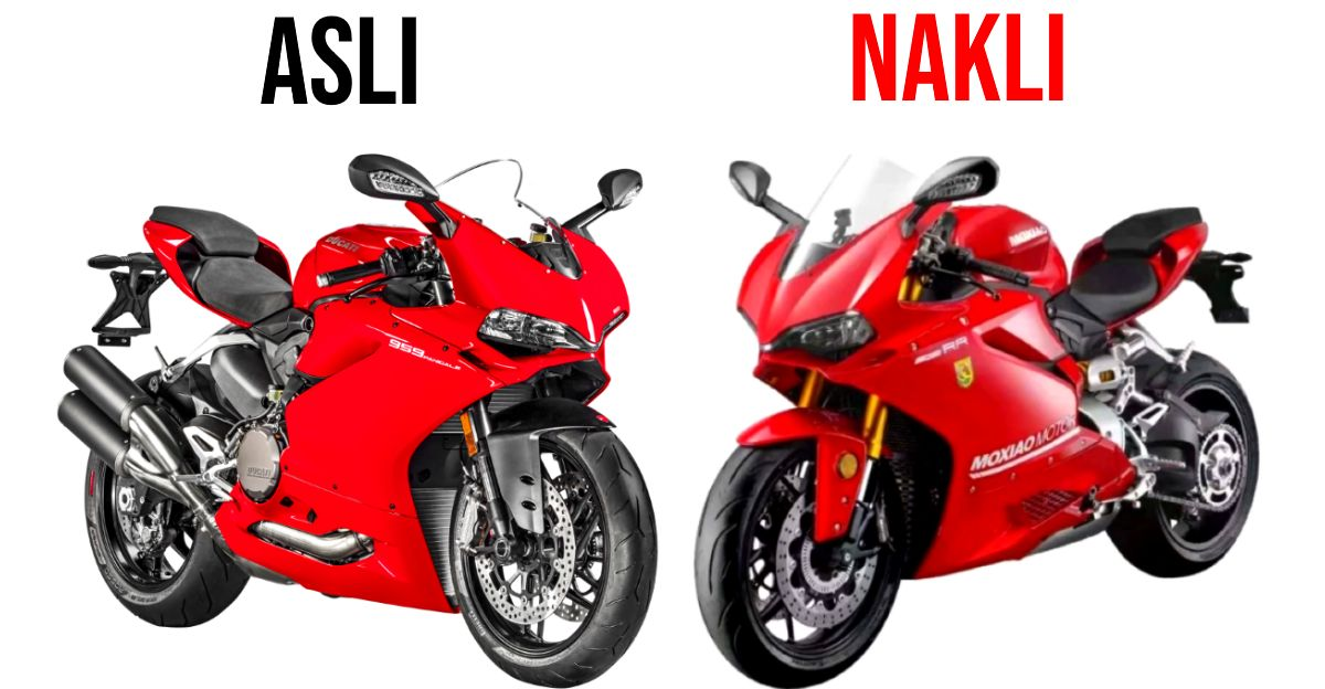 China's Ducati Panigale copycat superbike makes less power than a Royal Enfield Interceptor