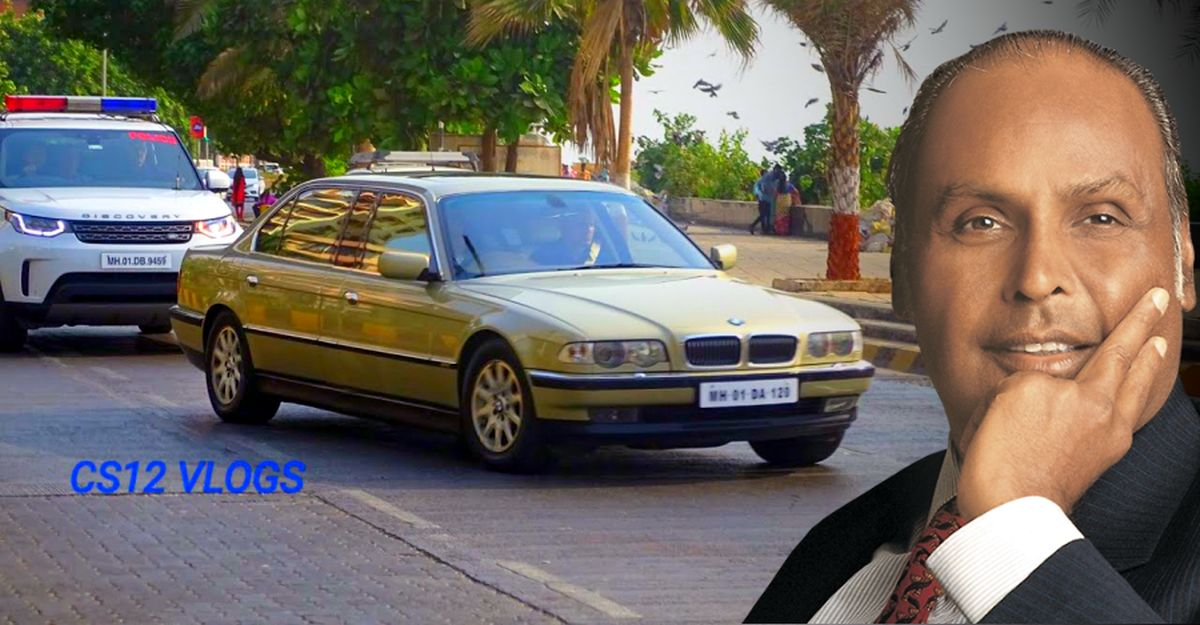 RARE footage of Dhirubhai Ambani's BMW 750i XL L7 stretched limousine: Video + unseen pictures