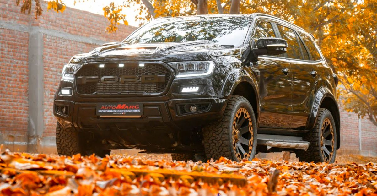 Modified Ford Endeavour luxury SUV looks stunning [Video]