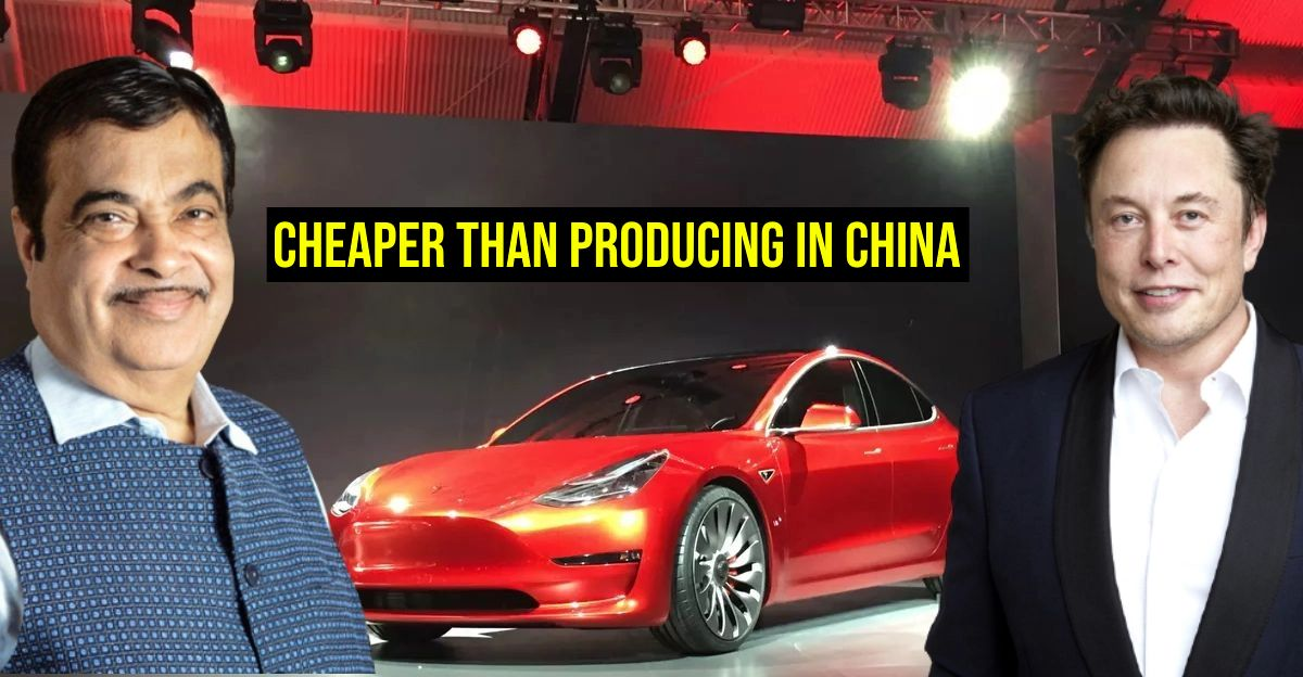 Minister Nitin Gadkari to Tesla: Manufacturing electric cars in India beneficial for you