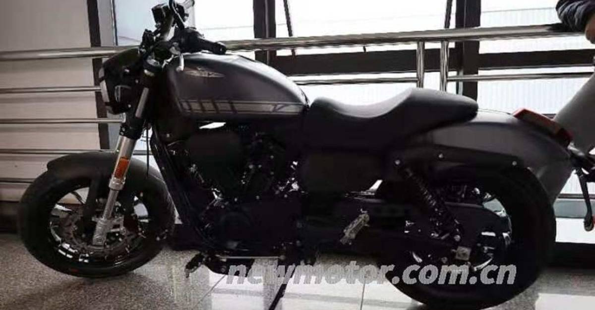 300cc Harley Davidson: First pictures of Royal Enfield rival