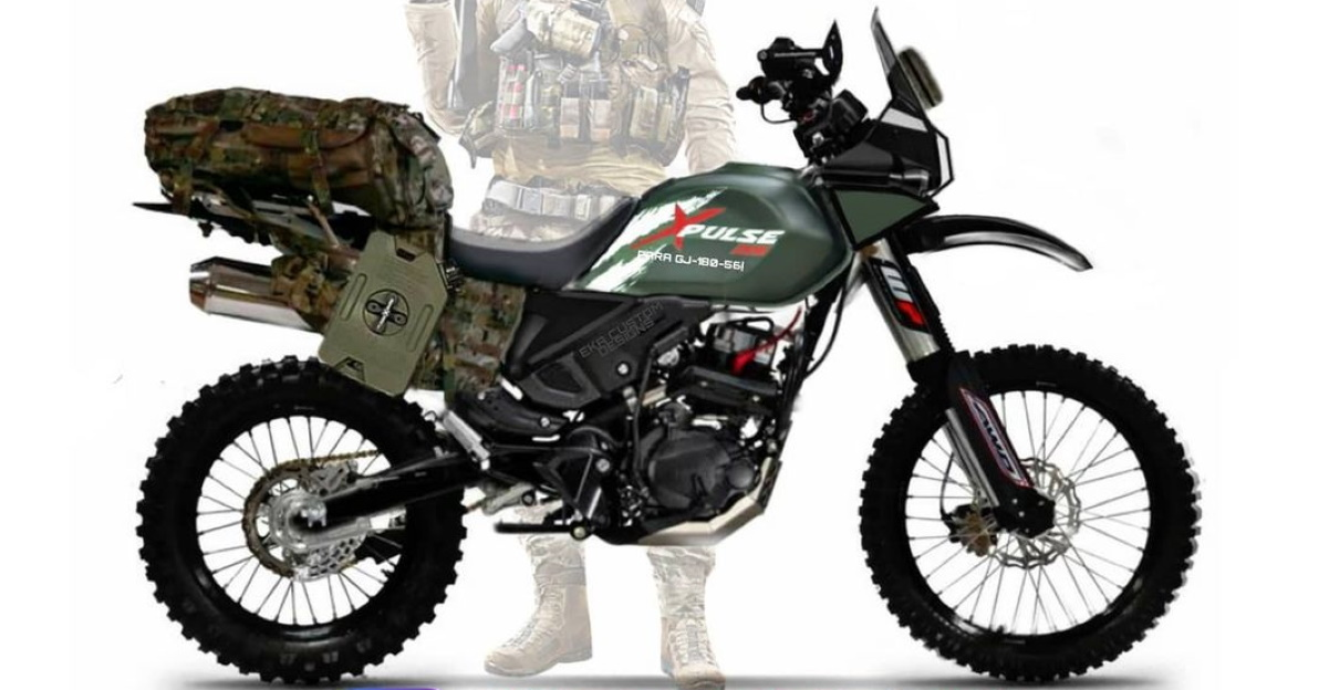 Hero Xpulse 200 Army Edition should be perfect for the Indian Army