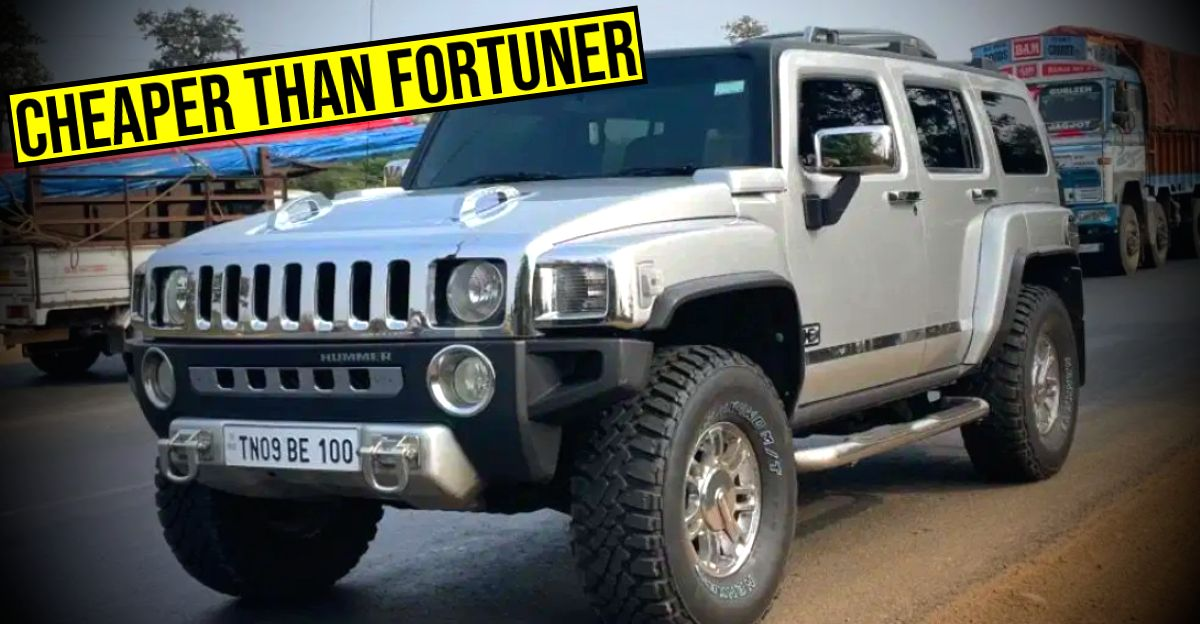Used Hummer H3 selling cheaper than a Toyota Fortuner
