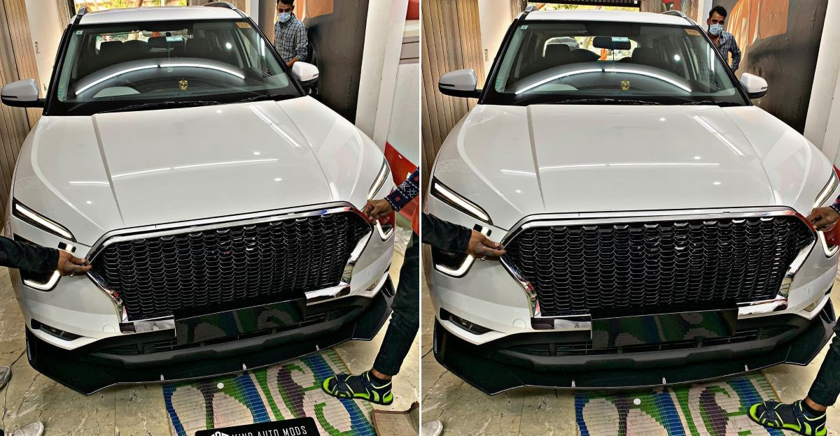 2020 Hyundai Creta SUV with Audi-style RS grille: Pictures & details
