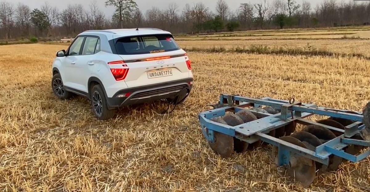 New Hyundai Creta wants to be a tractor