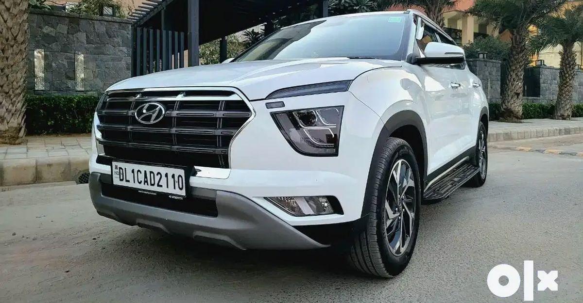 Almost-new Hyundai Creta compact SUVs for sale