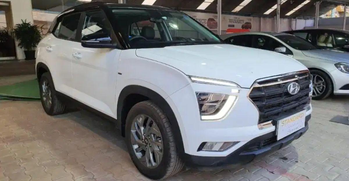 Almost new Hyundai Creta SUVs for sale: No waiting period