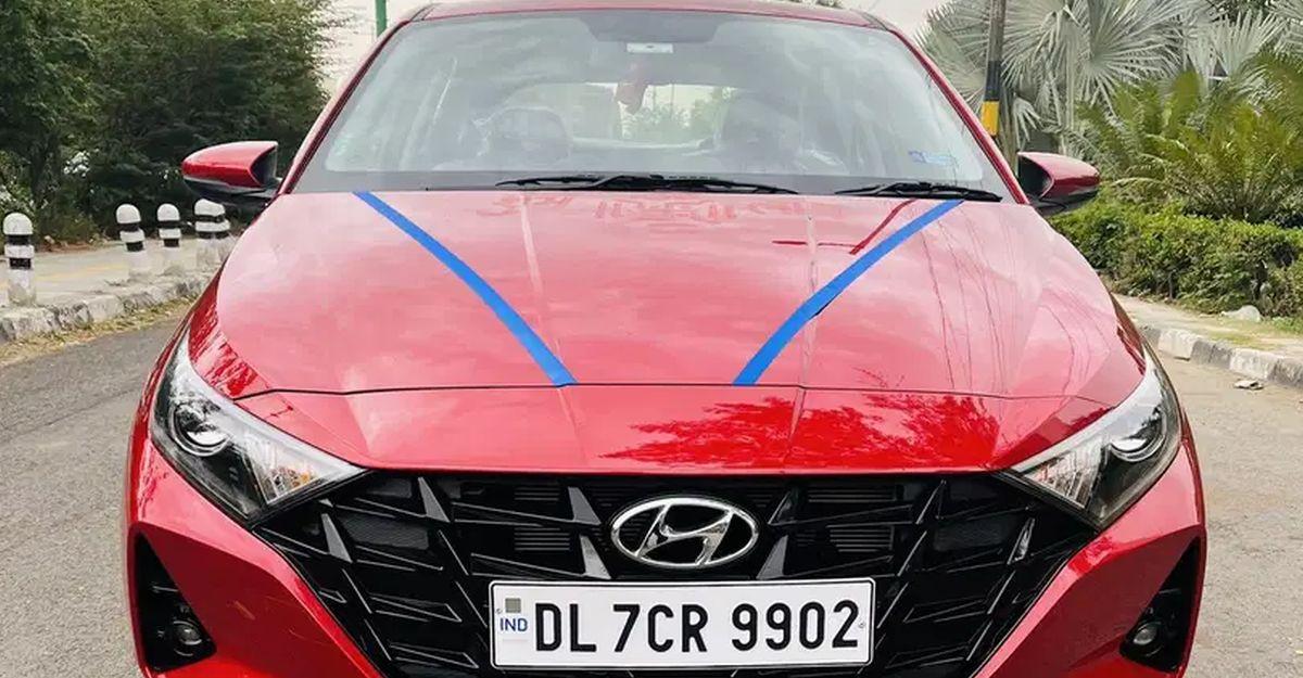 Almost-new 2021 Hyundai i20 premium hatchbacks for sale