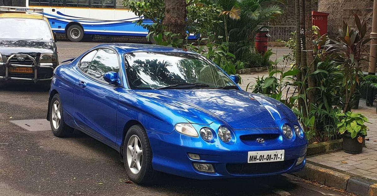 This super rare sportscar spotted in Mumbai is a Hyundai!
