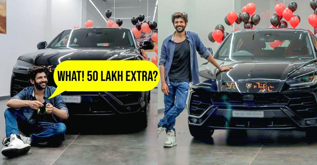Kartik Aryan just spent 50 lakh to 'skip 3 month waiting period' for the Lamborghini Urus