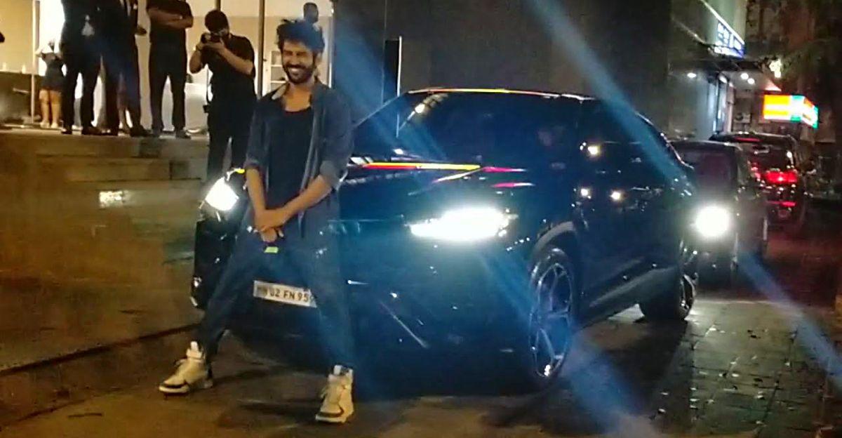 Kartik Aryan's latest ride is a 3 crore rupee Lamborghini Urus super SUV