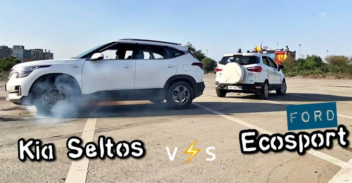Kia Seltos vs Ford EcoSport in a Tug-of-War