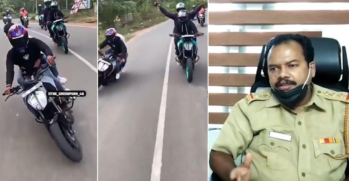 RTO SUSPENDS KTM Duke rider's license after rash riding video goes viral