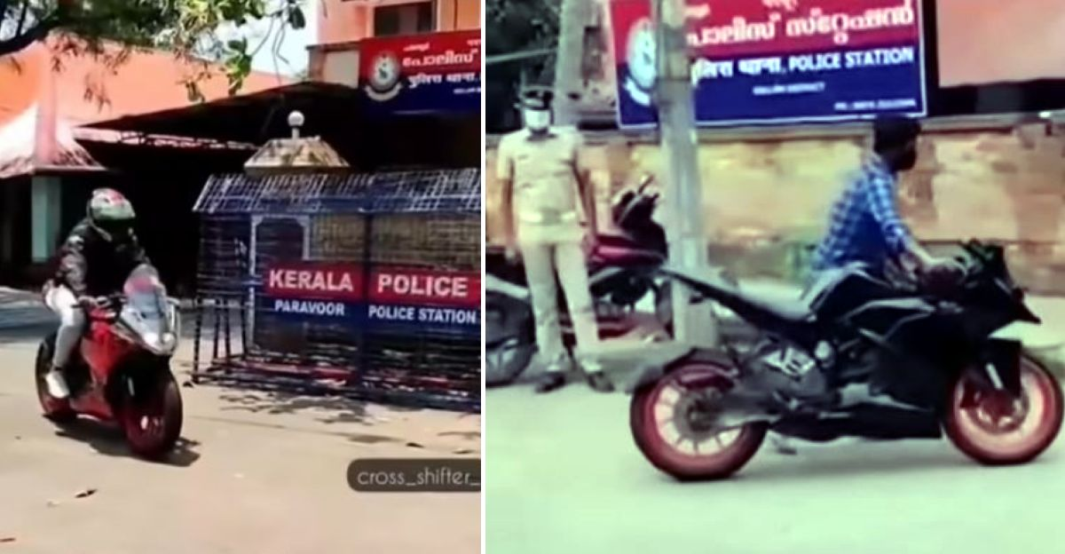 KTM rider's license suspended for stunting in front of a police station: Bike SEIZED again